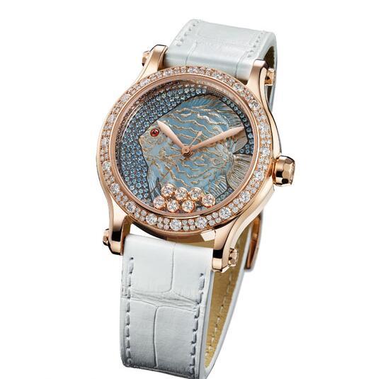 Chopard Happy Diamonds Happy Fish Series Replica Watches
