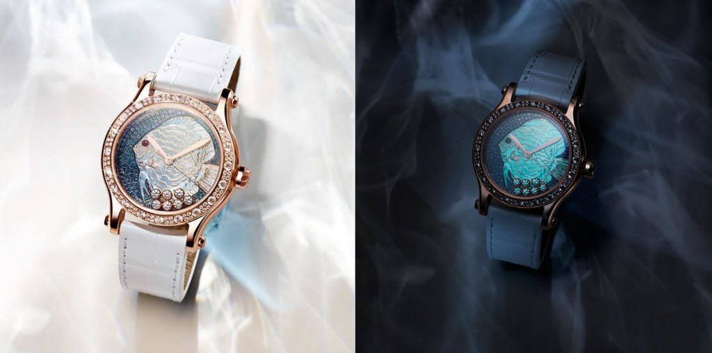 High Quality Chopard Happy Diamonds Happy Fish Series Replica Watches