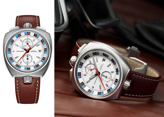 High-end Omega Seamaster Bullhead Co-axial Chronogragh Replica Watches