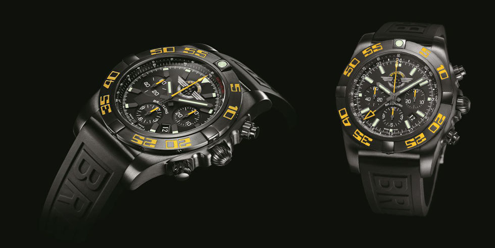 Breitling Chronomat Jet Team American Tour Limited Editions