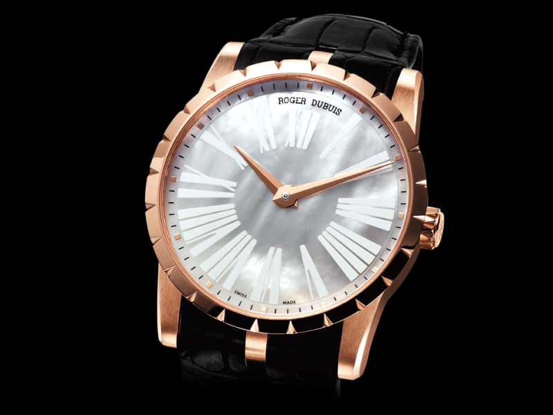 Roger Dubuis Excalibur 42 Automatic Mother of Pearl Dial Replica Watch