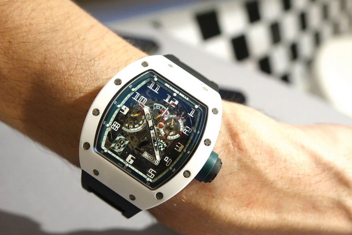 Richard Mille RM 030 Automatic 'Black Dash'