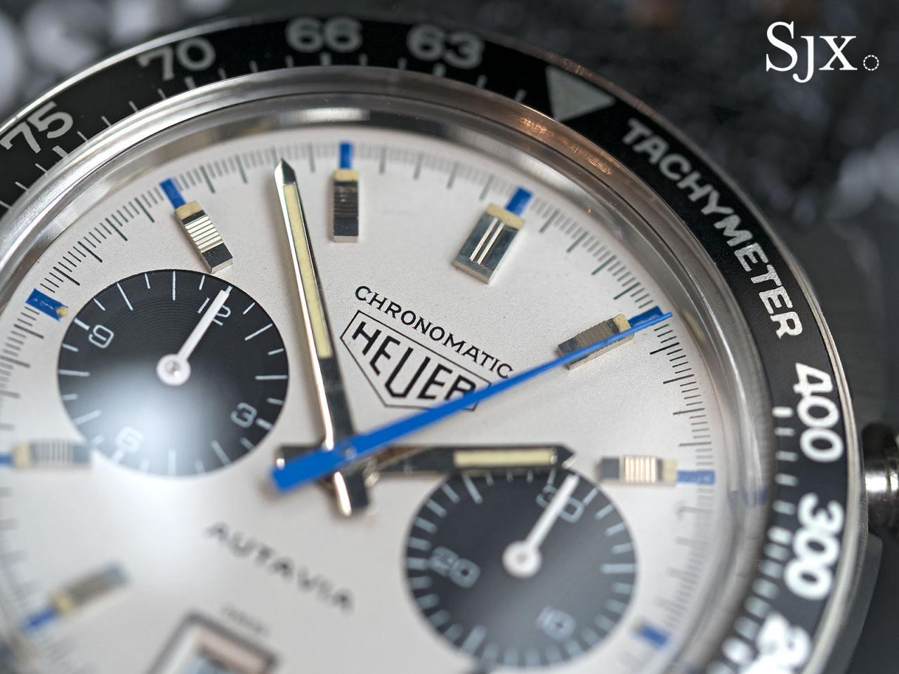 Heuer Autavia Siffert Chronomatic 2