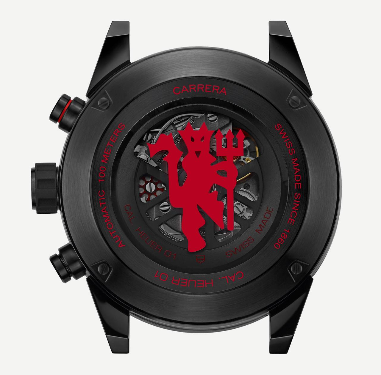 TAG Heuer Carrera Heuer-01 Chronograph Manchester United 3