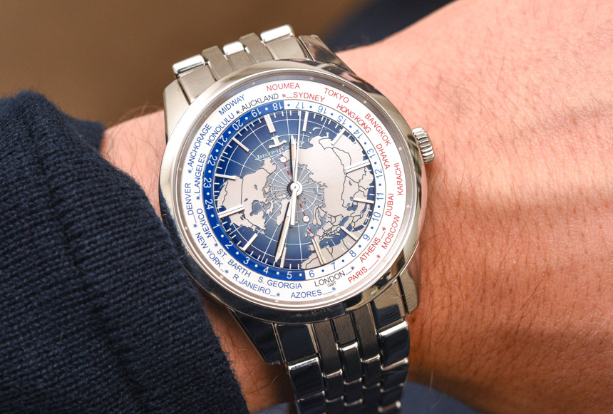 Jaeger-LeCoultre Geophysic Universal Time Watch On Bracelet Hands-On Hands-On
