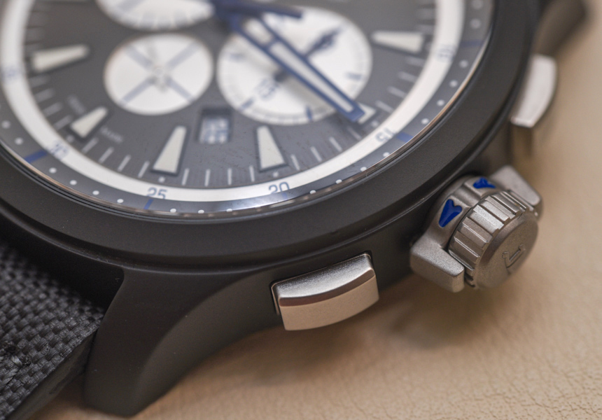 Jaeger-LeCoultre Master Compressor Chronograph Ceramic Watch In Blue Hands-On Hands-On